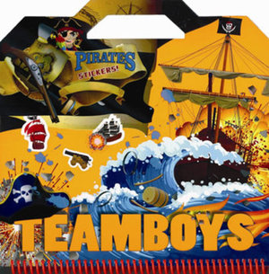 TEAMBOYS Pirates Stickers! značky Svojtka (1)