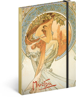Notes Alfons Mucha – Poezie značky Presco Group (5)