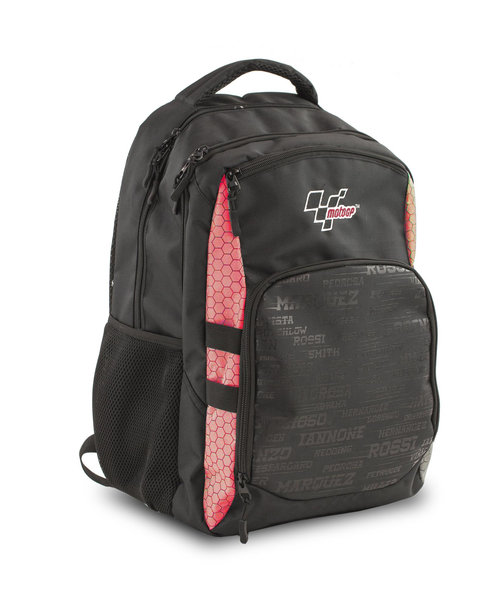 Moto GP Batoh černý/červený, s přední kapsou