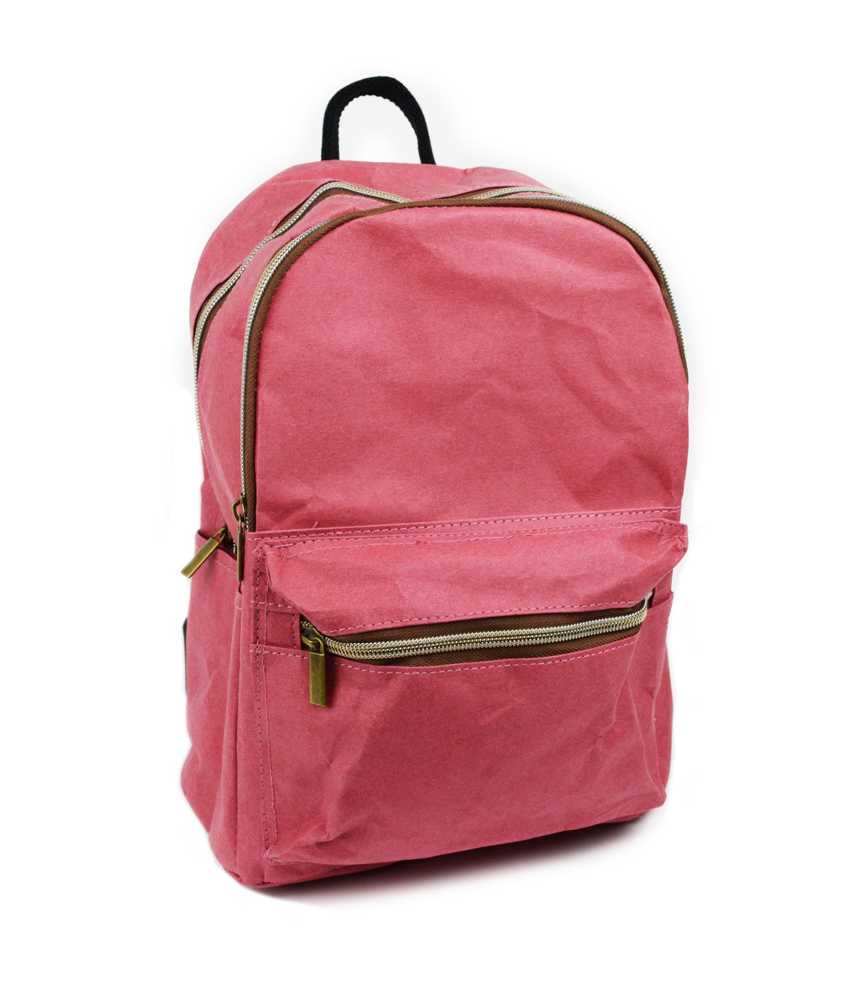 Levně Červený papírový batoh