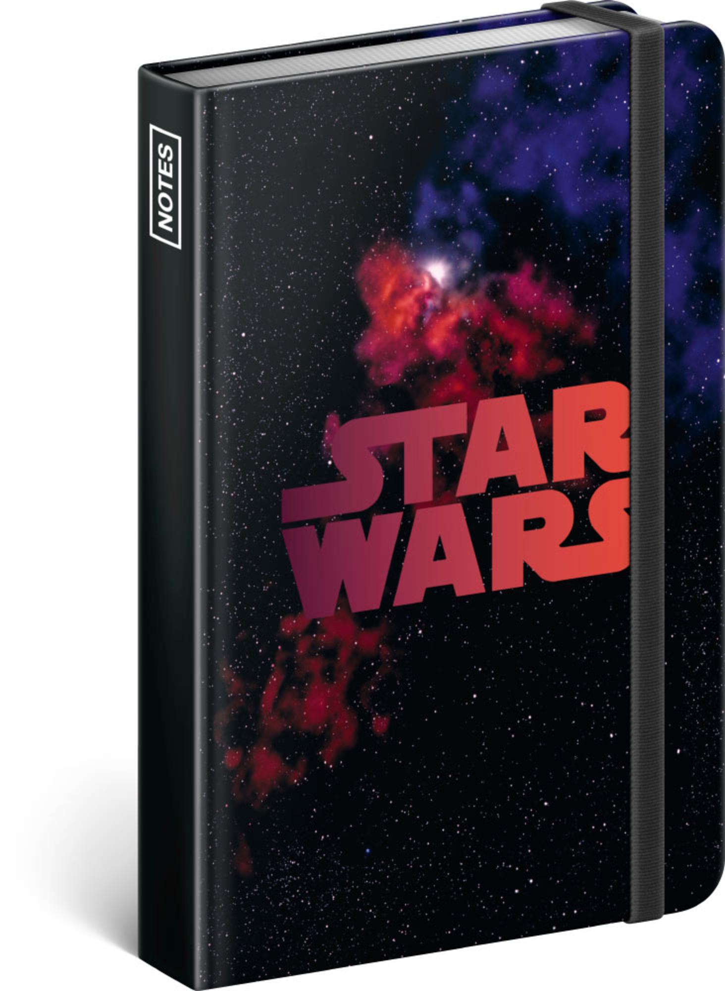 Levně Presco Group Notes A5 Star Wars – Universe linkovaný, 11 x 16 cm