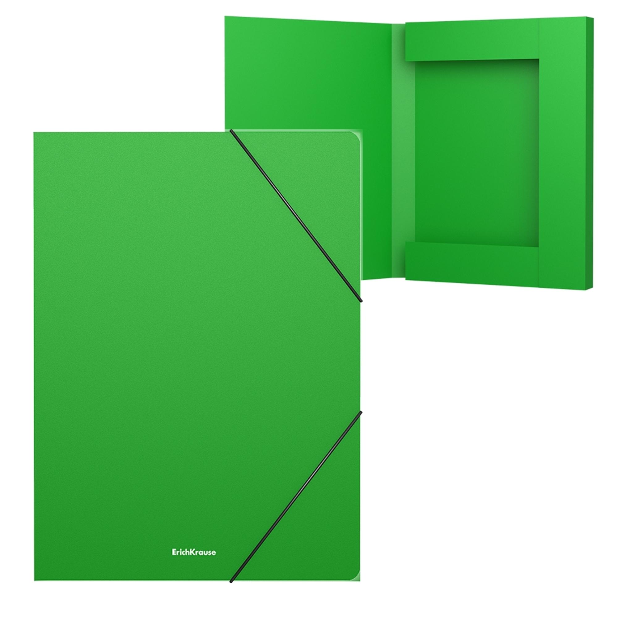 Erich Krause Desky A4 Classic, 30mm, zelené
