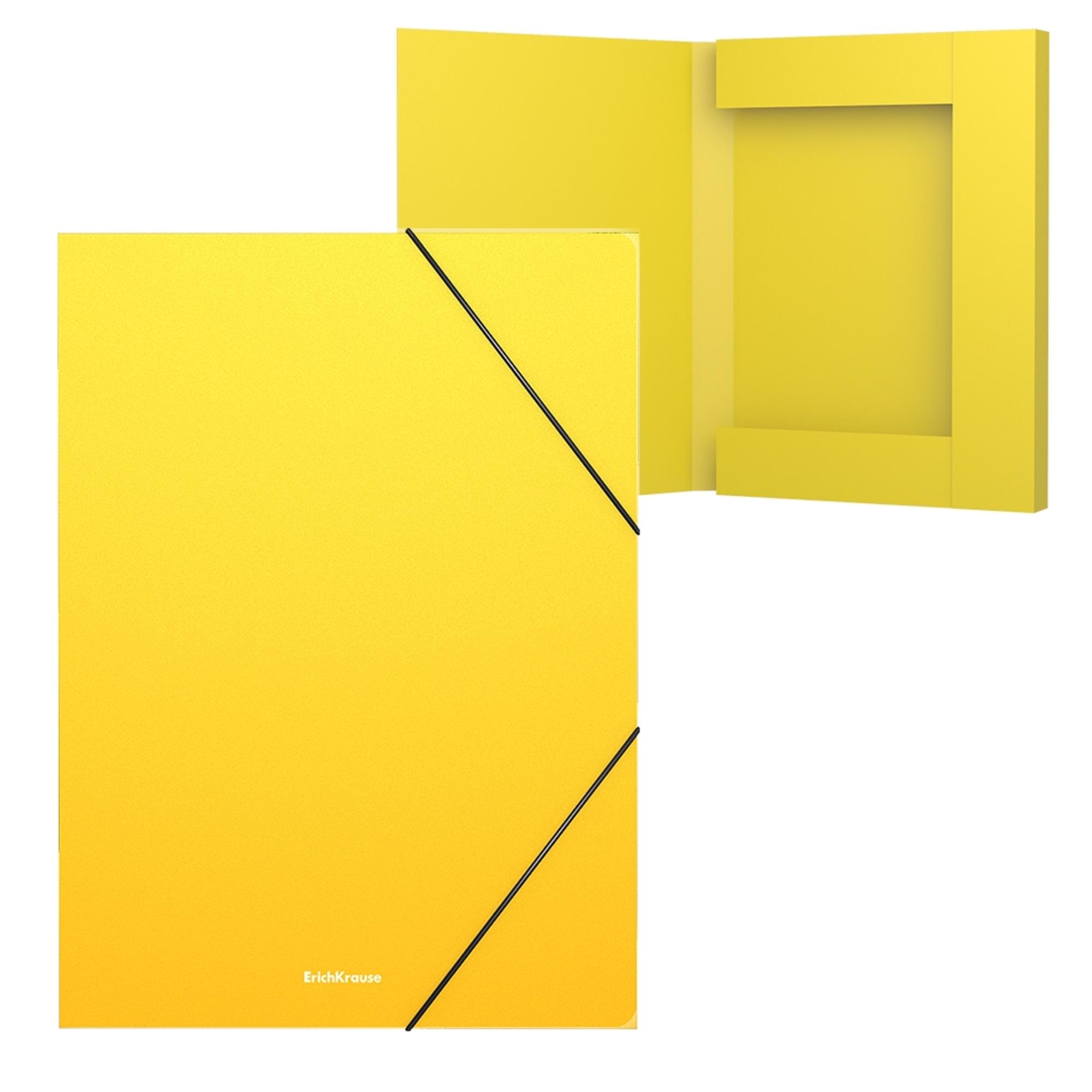 Erich Krause Desky A4 Classic, 30mm, žluté
