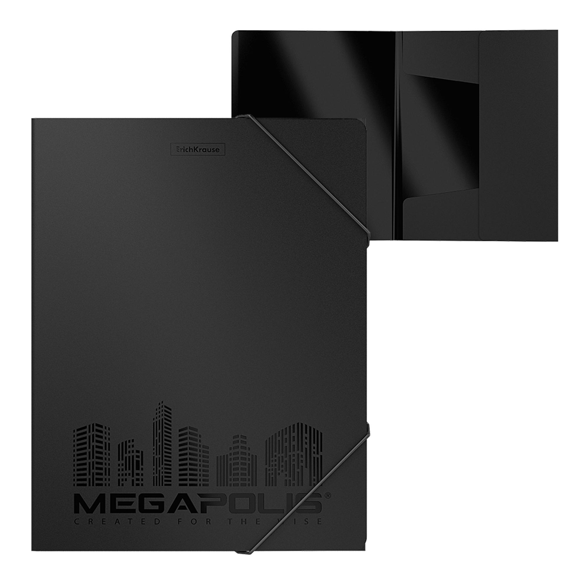 Erich Krause Desky A4 Megapolis, černé
