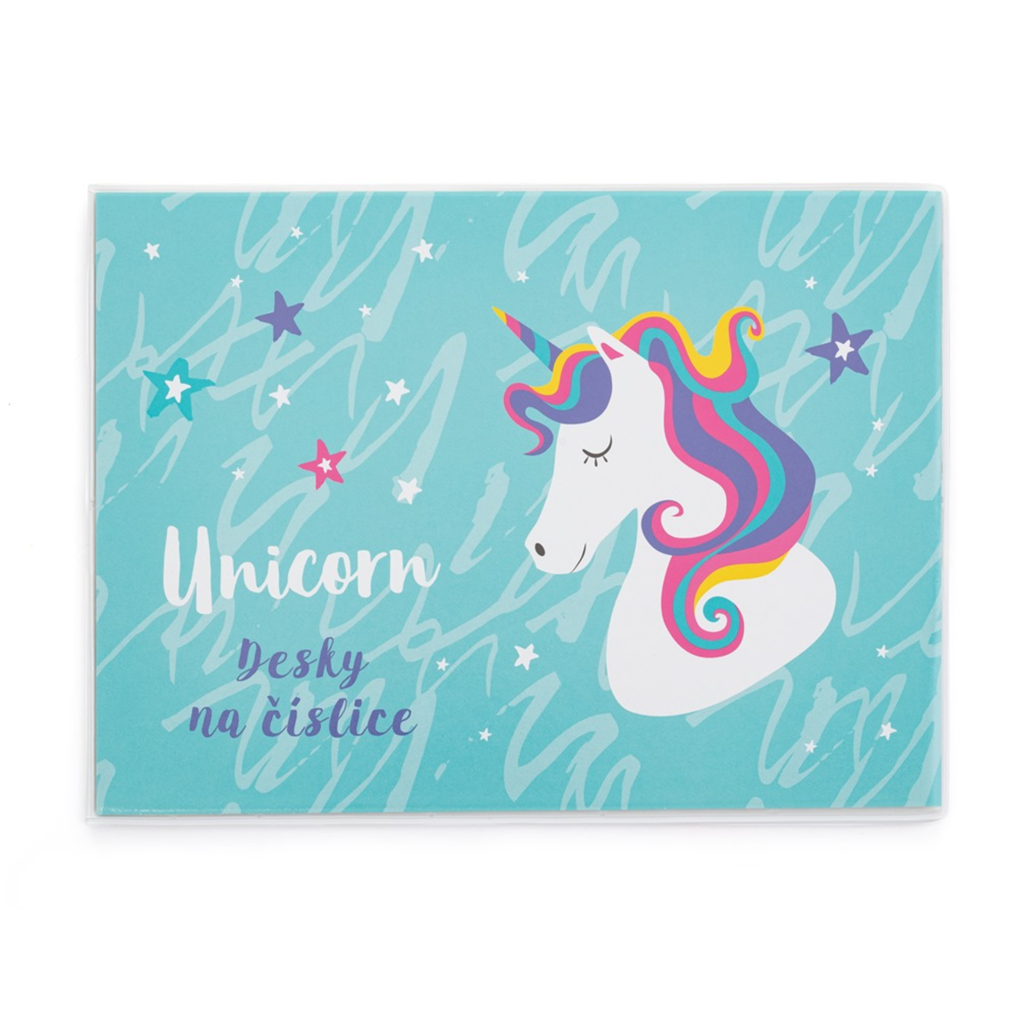 Karton P+P Desky na číslice Unicorn iconic