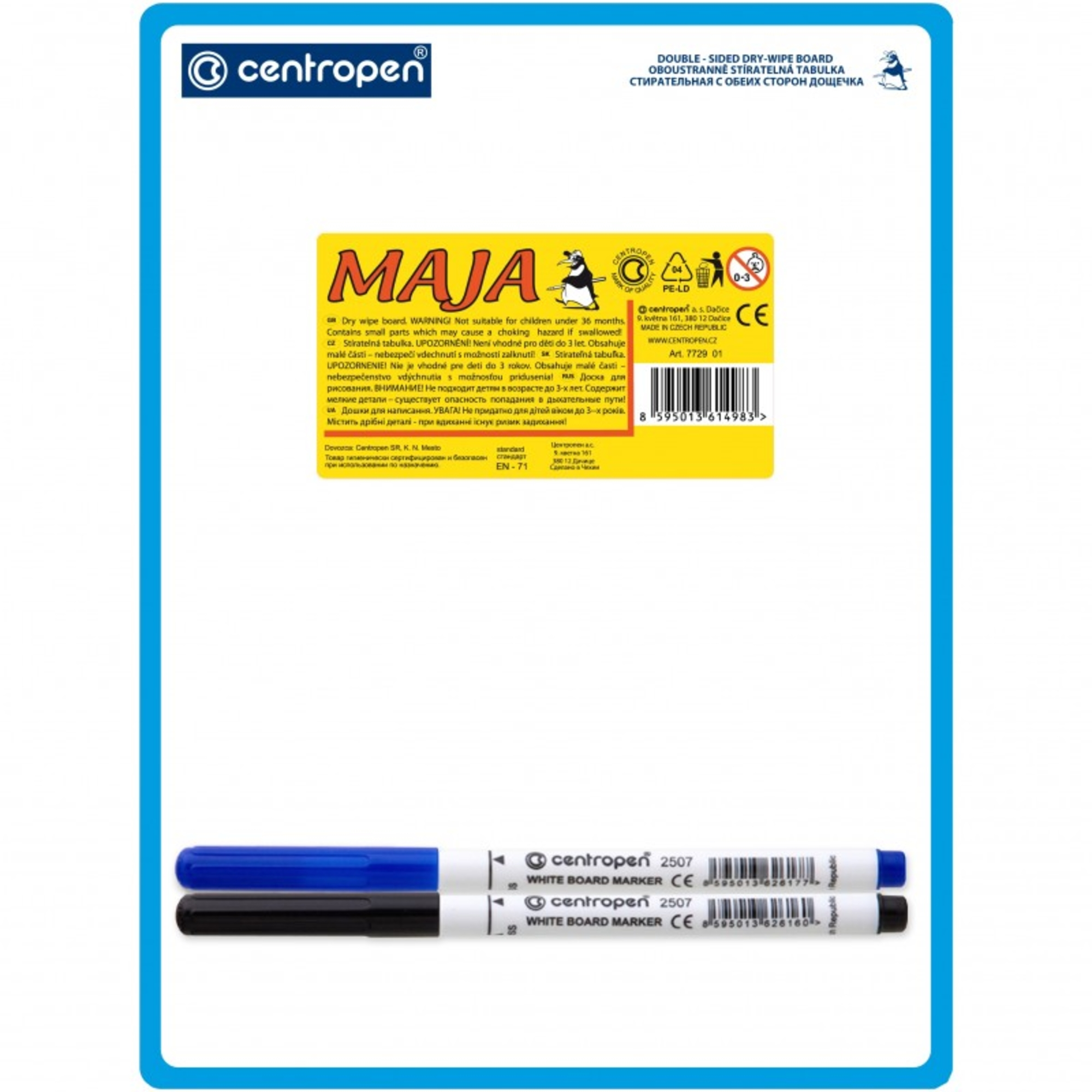 Centropen Maja tabulka oboustranně stíratelná 7729